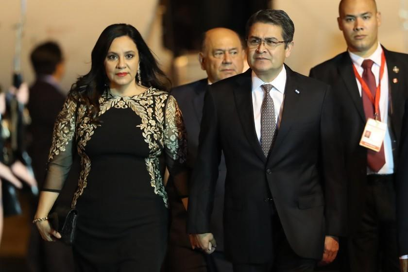 Honduras says its president has been hospitalized with COVID-19. Many do not imagine it