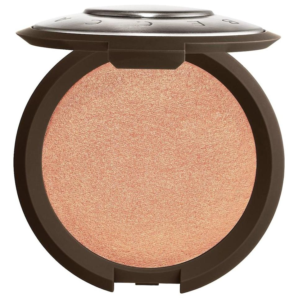 <p>The <span>Becca Cosmetics Shimmering Skin Perfector Pressed Highlighter in Rose Gold</span> ($38) is a fan-favorite highlighter that gives a gorgeous shimmer finish perfect for those glam nights.</p>