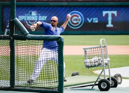 FILE PHOTO: MLB: Chicago Cubs at Texas Rangers