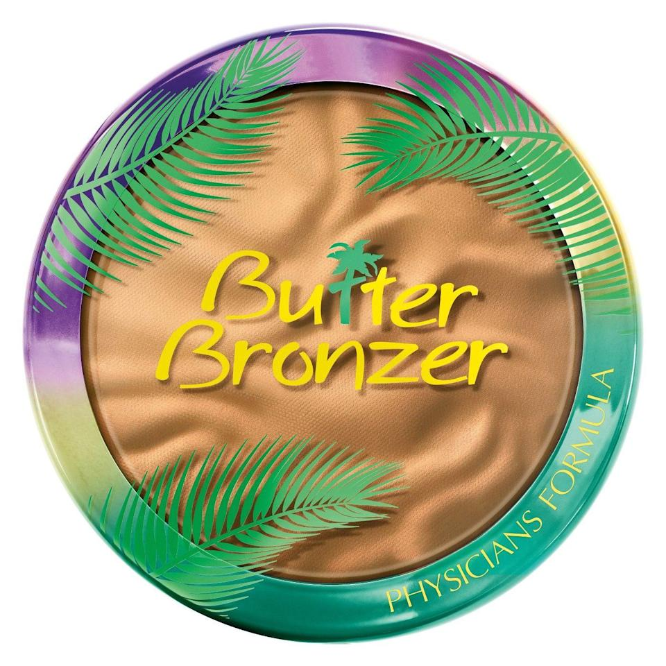 """<p>Although this bronzer isn't exactly new, this is the first time it's hitting Target shelves — <em>finally</em>. Butter is right: This creamy powder formula (seriously, just try it) is one of the best drugstore options we've ever used. What's more, it comes in a <a href=""""https://www.refinery29.com/2017/10/175196/physicians-formula-butter-highligher-review"""" rel=""""nofollow noopener"""" target=""""_blank"""" data-ylk=""""slk:highlighter"""" class=""""link rapid-noclick-resp"""">highlighter</a> and <a href=""""https://www.physiciansformula.com/catalog/product/view/id/2133/s/murumuru-butter-blush/"""" rel=""""nofollow noopener"""" target=""""_blank"""" data-ylk=""""slk:blush"""" class=""""link rapid-noclick-resp"""">blush</a> version, too.</p><br><br><strong>Physicians Formula</strong> Butter Bronzer, $14.95, available at <a href=""""https://www.target.com/p/physicians-formula-bronzer-medium-0-38oz/-/A-75564782"""" rel=""""nofollow noopener"""" target=""""_blank"""" data-ylk=""""slk:Target"""" class=""""link rapid-noclick-resp"""">Target</a>"""