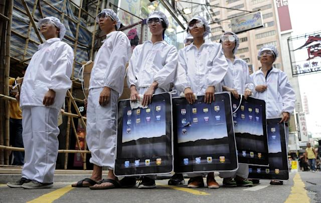 Apple's supplier Foxconn announced a 10 billion investment in the US. AFP/Getty Images
