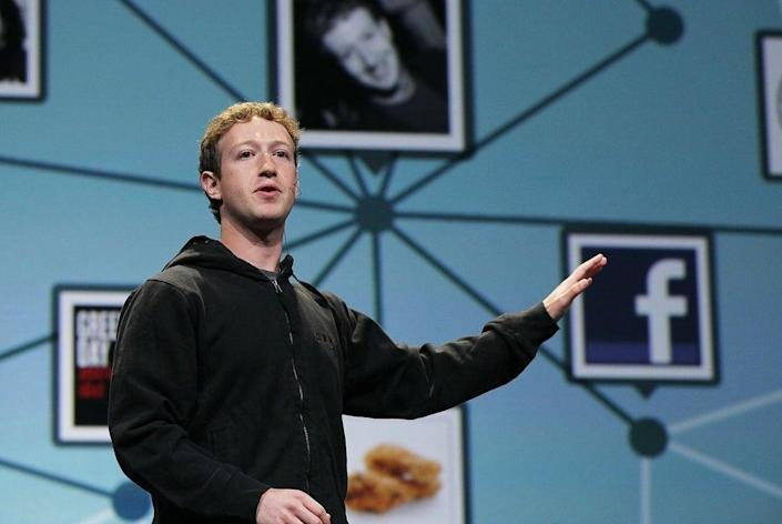 Give us a F: Facebook founder and CEO Mark Zuckerberg (Getty Images)