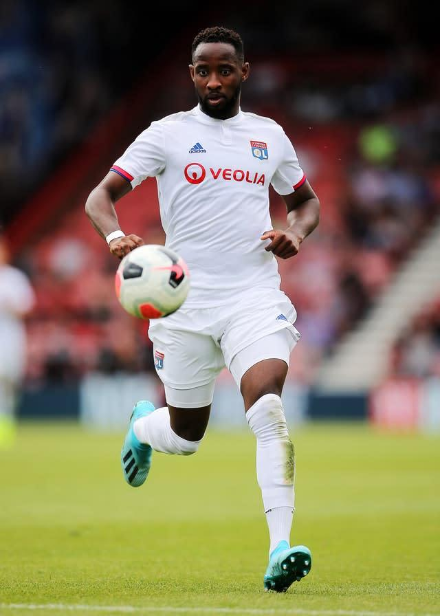 Lyon's Moussa Dembele is a target for Manchester United and Chelsea (Mark Kerton/PA)