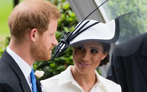 Meghan, Duchess of Sussex and Prince Harry, Duke of Sussex attend Royal Ascot  - Credit: Samir Hussein