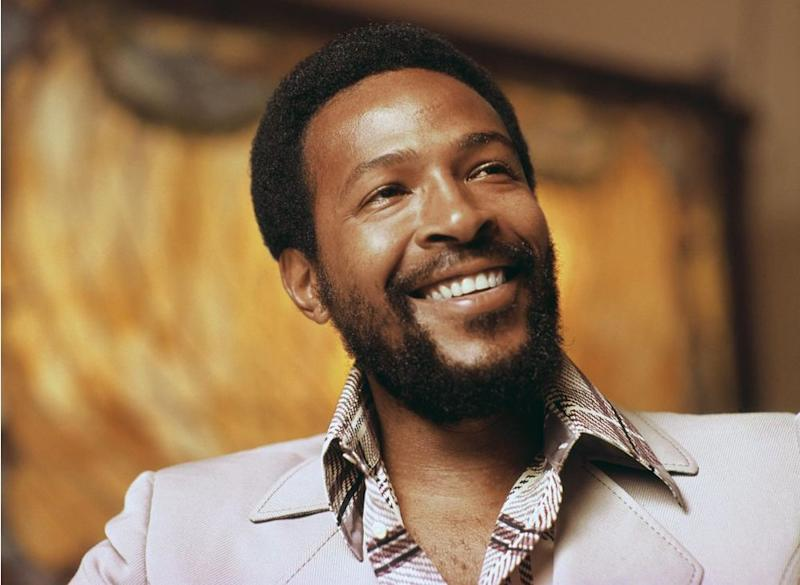 Marvin Gaye in 1972. | Motown Photo Archive