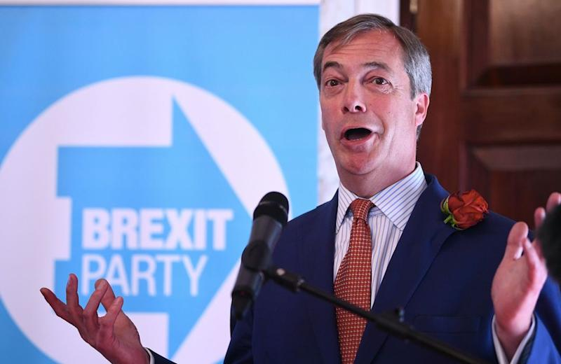 The Brexit Party has enjoyed strong support since its launch (Getty)