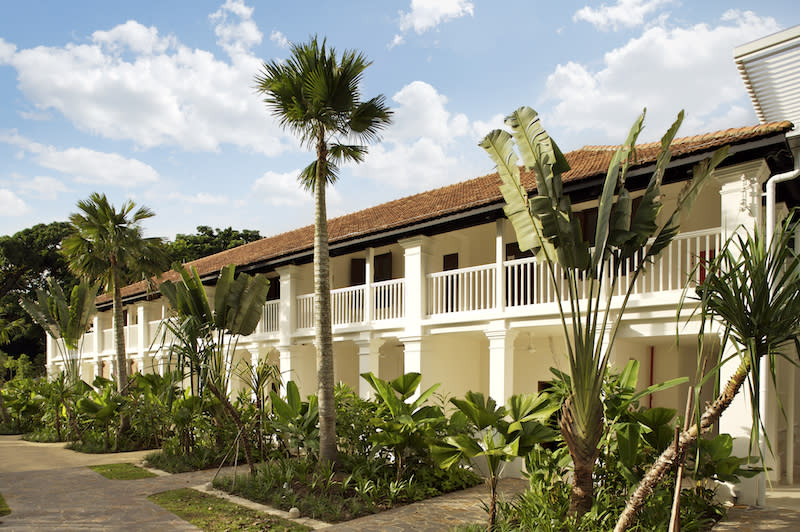 Resorted colonial building. Photo: Amara Sanctuary Resort Sentosa