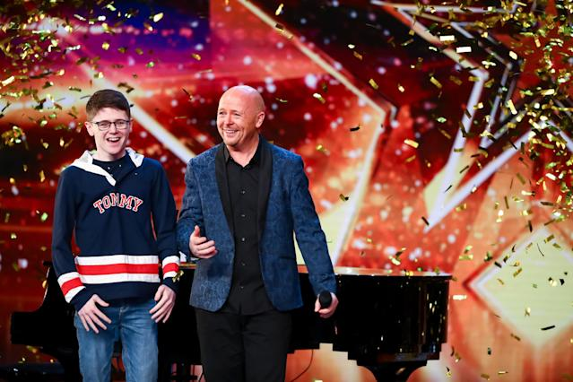 Jon Courtenay's emotional song won over Ant and Dec. (ITV)