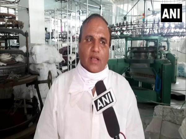 Dinesh Sarpal, owner of Hosiery Factory (Photo/ANI)