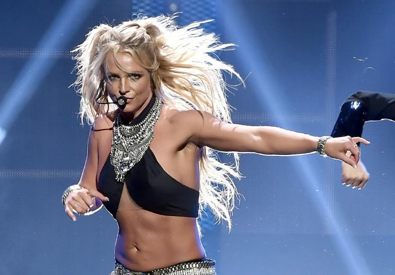Britney Spears' high energy pop burst onto the global stage in the late 1990s (AFP/KEVIN WINTER)