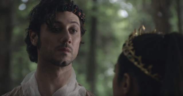 Hale Appleman as Eliot in 'The Magicians' (Photo: Syfy)