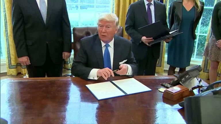Trump's latest executive order: Banning people from 7 countries and more
