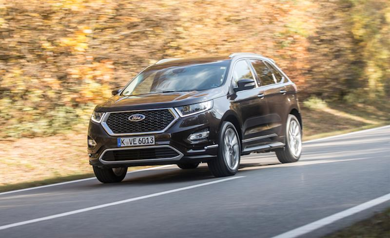 This Canada Builtsel Engined Luxury Ford Edge Aimed At The European Market Is One Of The More Interesting Ones