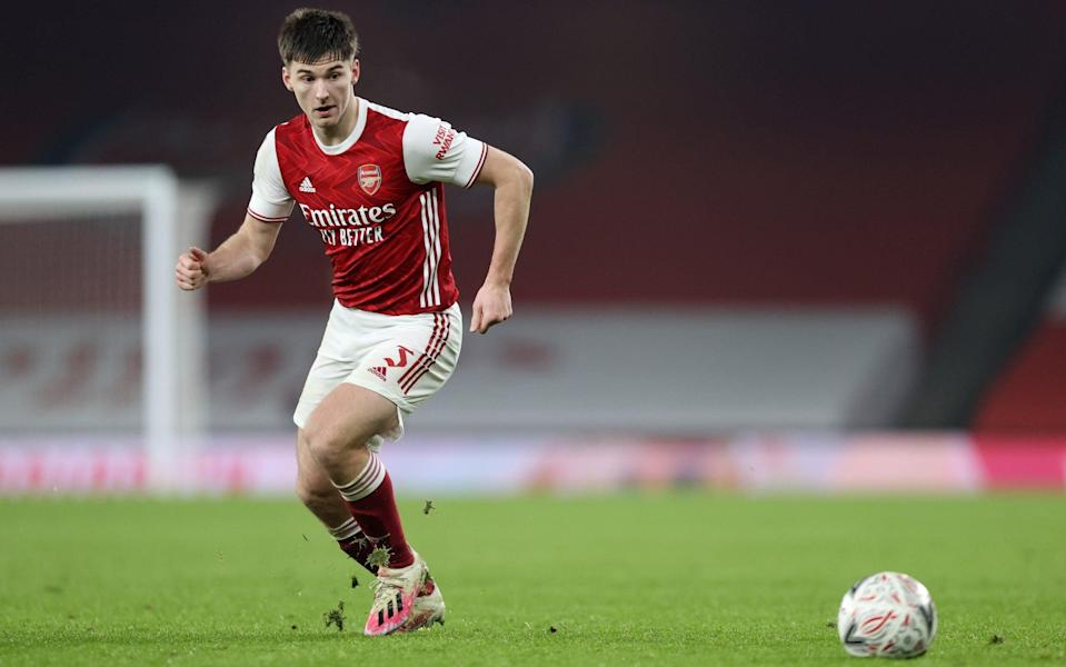 Tierney joined Arsenal for £25m in 2019 - GETTY IMAGES