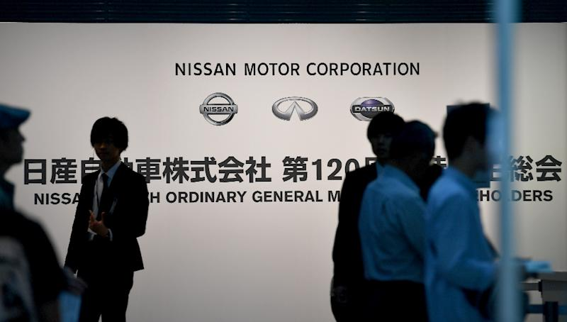 Nissan shareholders are holding an annual meeting to vote on governance reforms after the Carlos Ghosn scandal (AFP Photo/TOSHIFUMI KITAMURA)