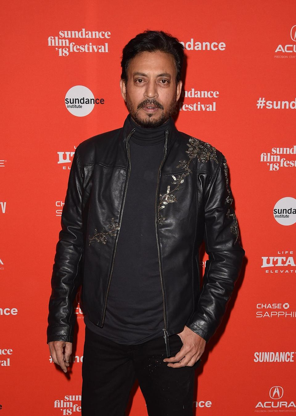 <p>The Bollywood actor and <strong>Slumdog Millionaire</strong> star <span>died on April 29 after being admitted to the hospital with a colon infection</span>. The news came two years after he was diagnosed with a rare form of cancer. He was 53. </p>