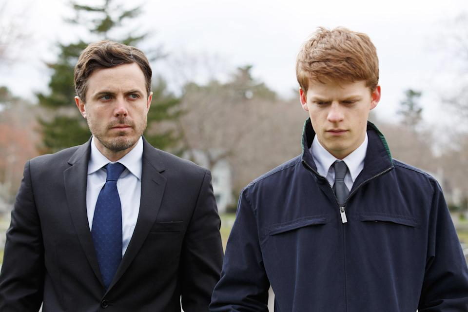 "<h1 class=""title"">MANCHESTER BY THE SEA, from left, Casey Affleck, Lucas Hedges, 2016. ph: Claire Folger. © Roadside</h1> <cite class=""credit"">Everett Collection</cite>"