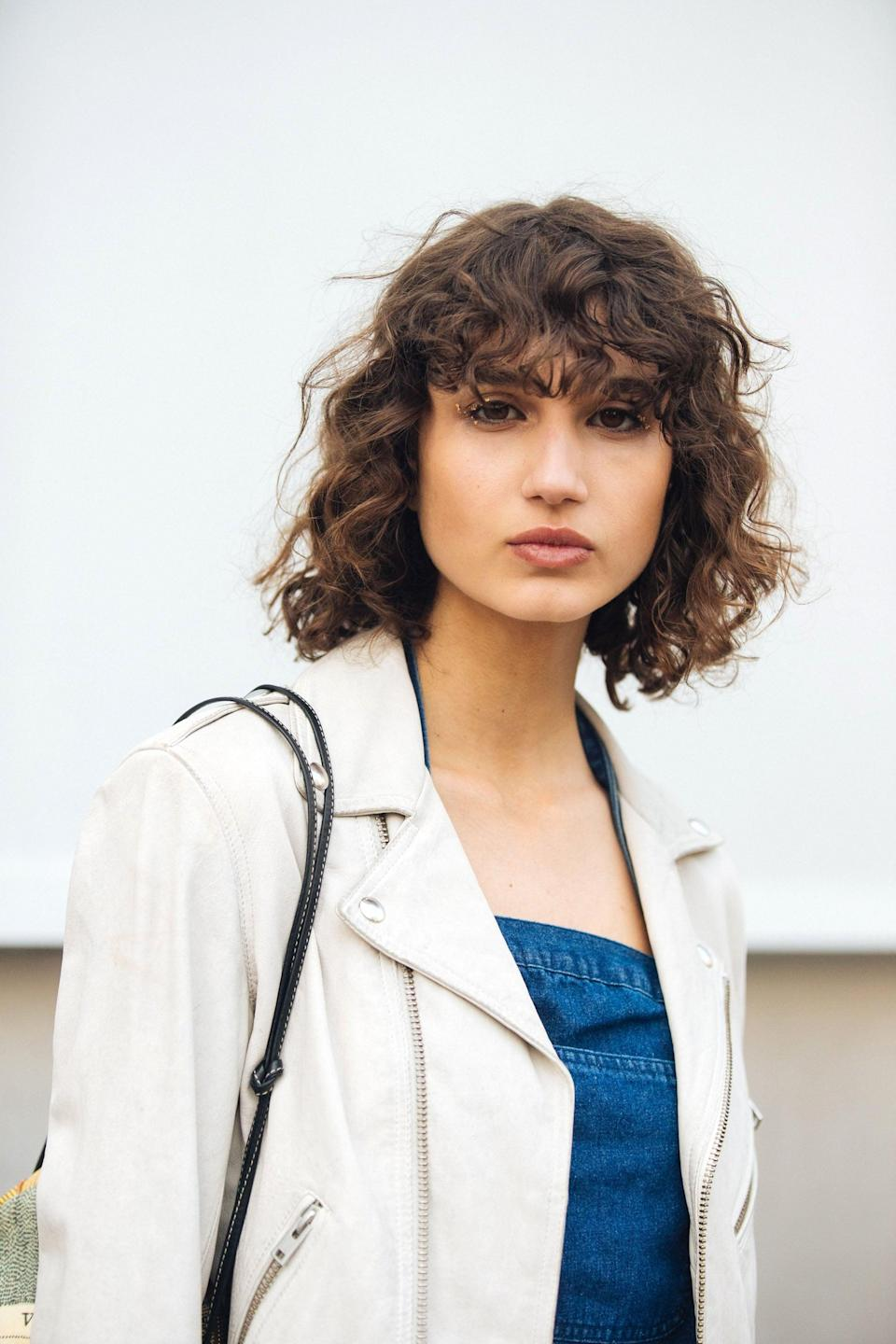 """<p>You're empathetic, creative, and romantic, meaning a retro-inspired shaggy haircut will fit your overall vibe perfectly. """"Shaggy layered looks are for the more fashion-forward and will offer style without the need for constant upkeep,"""" said <a href=""""https://www.instagram.com/josephmaine/"""" class=""""link rapid-noclick-resp"""" rel=""""nofollow noopener"""" target=""""_blank"""" data-ylk=""""slk:Joseph Maine"""">Joseph Maine</a>, celebrity hairstylist and cofounder of <a href=""""https://shoptrademarkbeauty.com/"""" class=""""link rapid-noclick-resp"""" rel=""""nofollow noopener"""" target=""""_blank"""" data-ylk=""""slk:Trademark Beauty"""">Trademark Beauty</a>.</p>"""