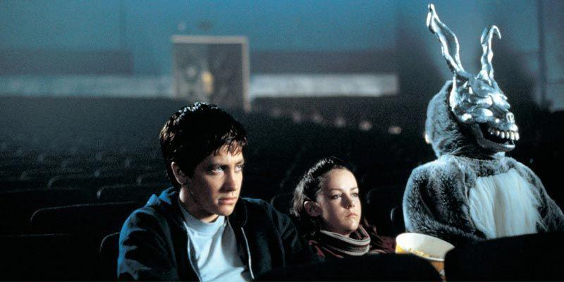 """<p>Perfect amounts creepy and perplexing, <em><a href=""""https://www.amazon.com/Donnie-Darko-Jake-Gyllenhaal/dp/B002MGGM9I/?tag=syn-yahoo-20&ascsubtag=%5Bartid%7C2089.g.35650609%5Bsrc%7Cyahoo-us"""" rel=""""nofollow noopener"""" target=""""_blank"""" data-ylk=""""slk:Donnie Darko"""" class=""""link rapid-noclick-resp"""">Donnie Darko</a></em> is another strange example of time travel, which is why it belongs on this list all the more. Darko (Gyllenhaal again) is a high school kid with a less-than-sunny disposition. But when he begins seeing frightening hallucinations of a deranged and grotesque rabbit, things slowly begin to unravel, going from bad to weird pretty quickly.</p><p>For such a small-budget film (that was almost released straight to home video!) it's made <a href=""""https://www.popularmechanics.com/culture/movies/g869/10-classic-drive-ins-that-are-here-to-stay/"""" rel=""""nofollow noopener"""" target=""""_blank"""" data-ylk=""""slk:an outsized impact"""" class=""""link rapid-noclick-resp"""">an outsized impact</a> on science fiction and indie filmmaking. It's a great movie, but also a polarizing one.</p>"""