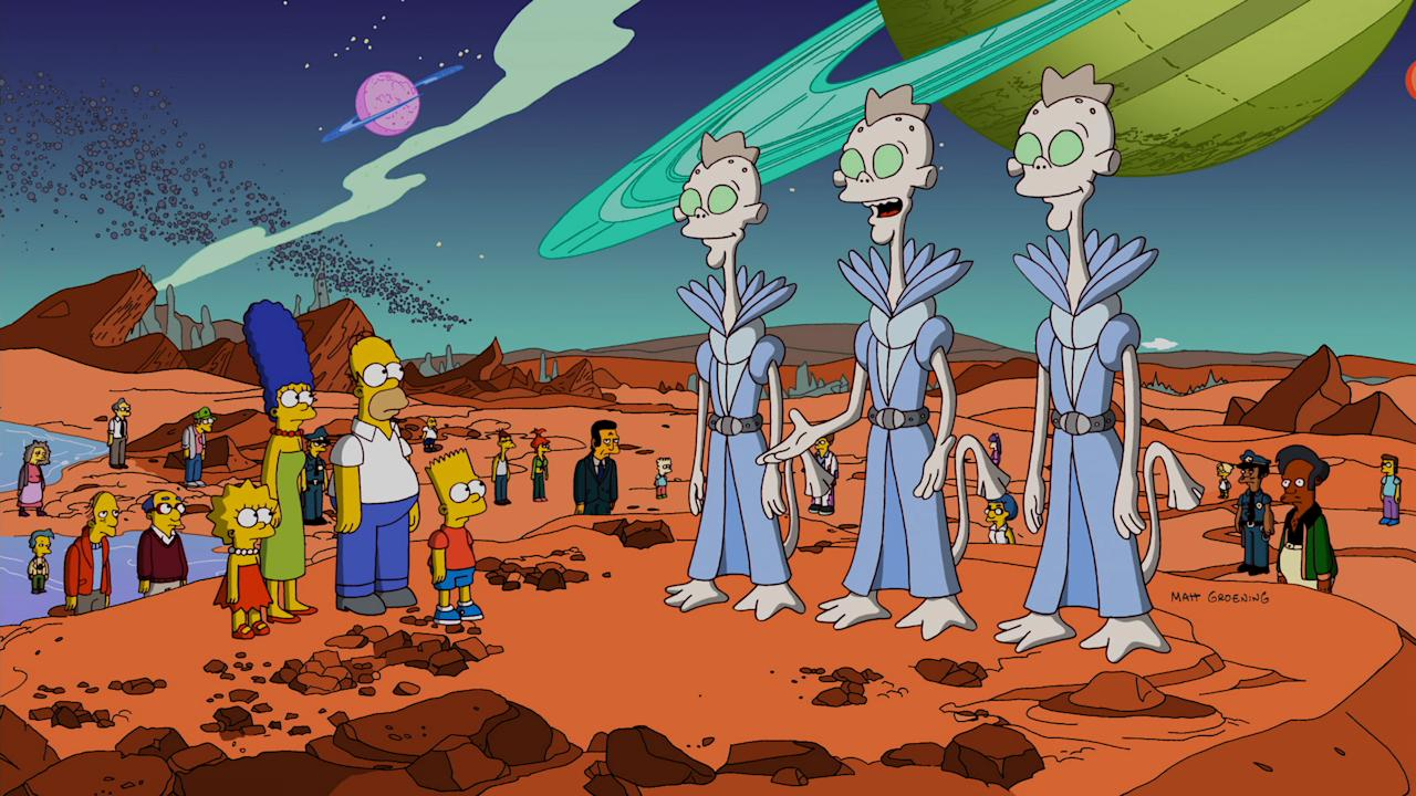 "In the 23rd annual ""Treehouse of Horror,"" the Springfield Subatomic Supercollider creates a black hole that terrorizes the city in the all-new ""Treehouse of Horror XXIII"" episode of THE SIMPSONS airing Sunday, Oct. 7 (8:00-8:30 PM ET/PT) on FOX."