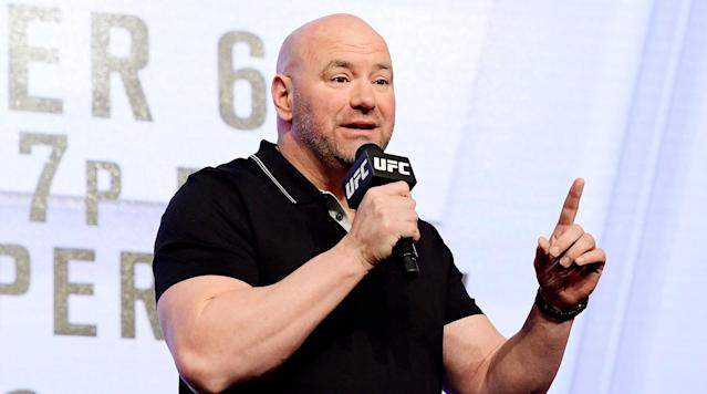 Dana White on Mayweather-Nurmagomedov Boxing Talk: 'Don't Pay Attention to It'