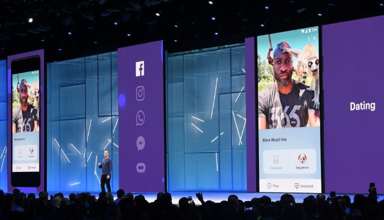 Facebook CEO Mark Zuckerberg unveiled plans in 2018 for the social network's dating service, which is now available in the United States