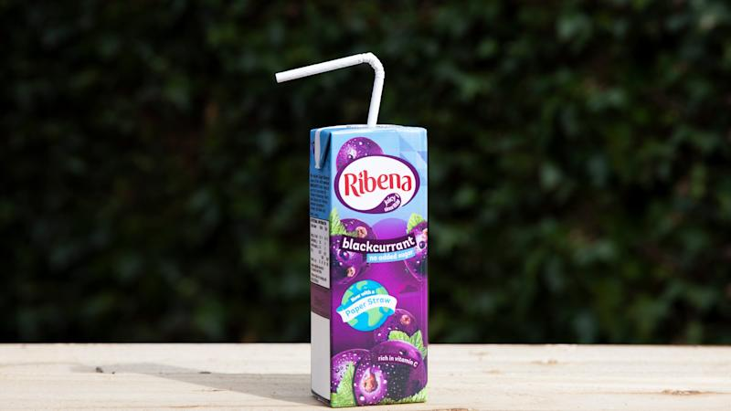 Ribena to test out paper straws on cartons in plastic packaging fight