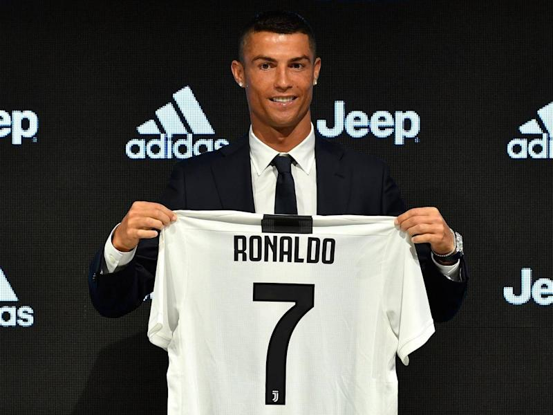 Ronaldo's signing has already seen record shirt sales (Juventus FC via Getty Images)