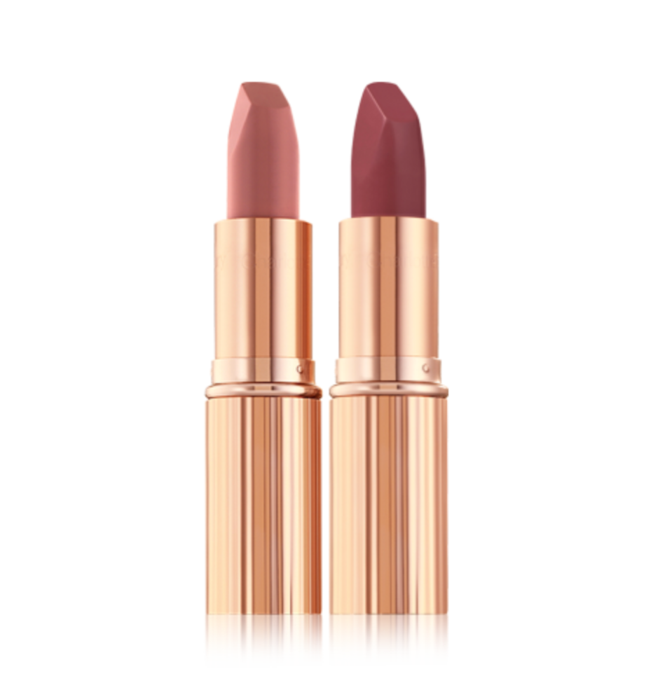 Pillow Talk Lipstick Duo. Image via Charlotte Tilbury.