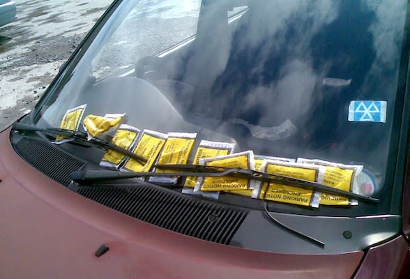 Parking fines could rise to £130