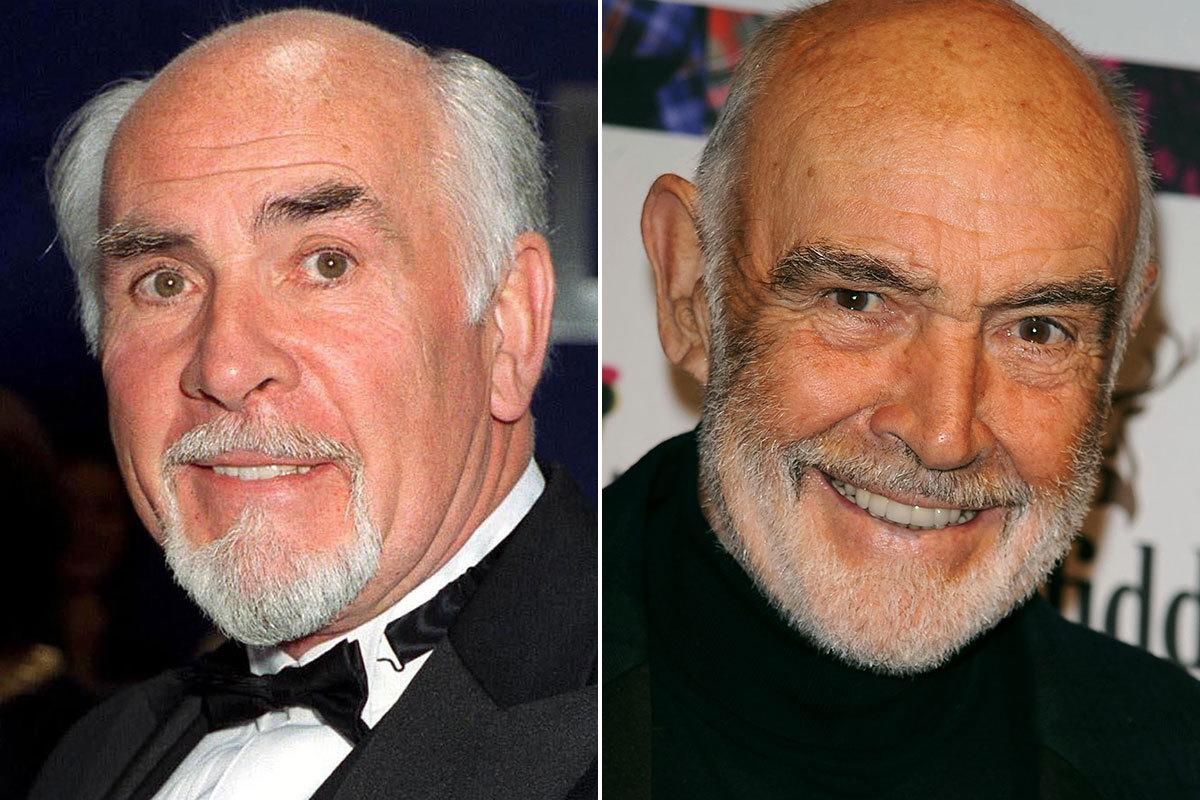 "Neil Connery – brother of Sean Connery: Bizarrely, Neil actually played the ""younger brother of Britain's best spy"" in 1967 Bond spoof 'O.K. Connery' (Credit: Rex)"