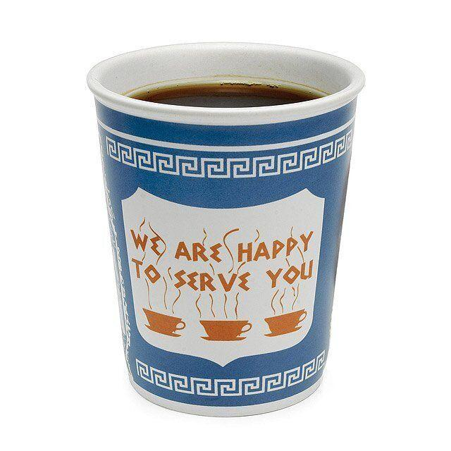 "If you're not going to your favorite coffee shop, this coffee cup will bring some of that atmosphere to your bedroom. <a href=""https://fave.co/2UioVlY"" target=""_blank"" rel=""noopener noreferrer"">Find it for $14 at Uncommon Goods</a>."