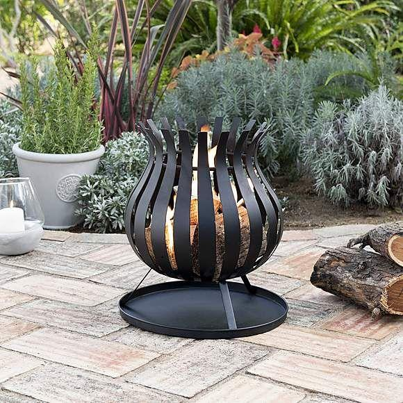 "<p><a class=""body-btn-link"" href=""https://go.redirectingat.com?id=127X1599956&url=https%3A%2F%2Fwww.dunelm.com%2Fproduct%2Fbulb-firebasket-1000142300%3FdefaultSkuId%3D30617356&sref=https%3A%2F%2Fwww.prima.co.uk%2Fhome-ideas%2Fgardening%2Fg32847316%2Foutdoor-fire-pits%2F"" target=""_blank"">SHOP NOW</a></p><p>A simple bulb-style fire pit for burning logs, at an impressively low price. With an elegant design, this can easily double as an understated garden ornament when not in use; the ash-catching plate makes cleaning up easy too.</p>"