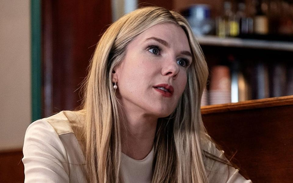 Lily Rabe as Sylvia - HBO