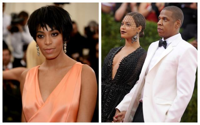 Family feuds didn't get more public than when Solange let loose at Jay-Z. Photo: Getty