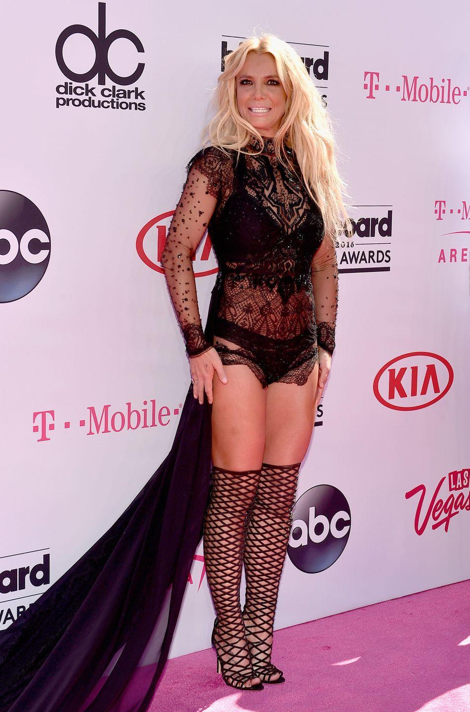<p>Britney Spears attends the 2016 Billboard Music Awards in Las Vegas, Nevada, on May 22, 2016.</p>