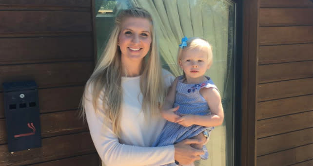Rebecca Adlington On Why She's Proud Of Her Stretch Marks And Her Post-Baby Body