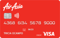 Best Co-Branded Credit Cards Philippines - AirAsia Credit Card