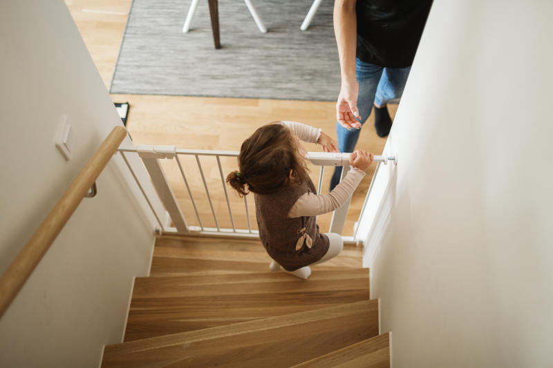 Parents have been warned to stop using a number of stair gates. (Getty Images)