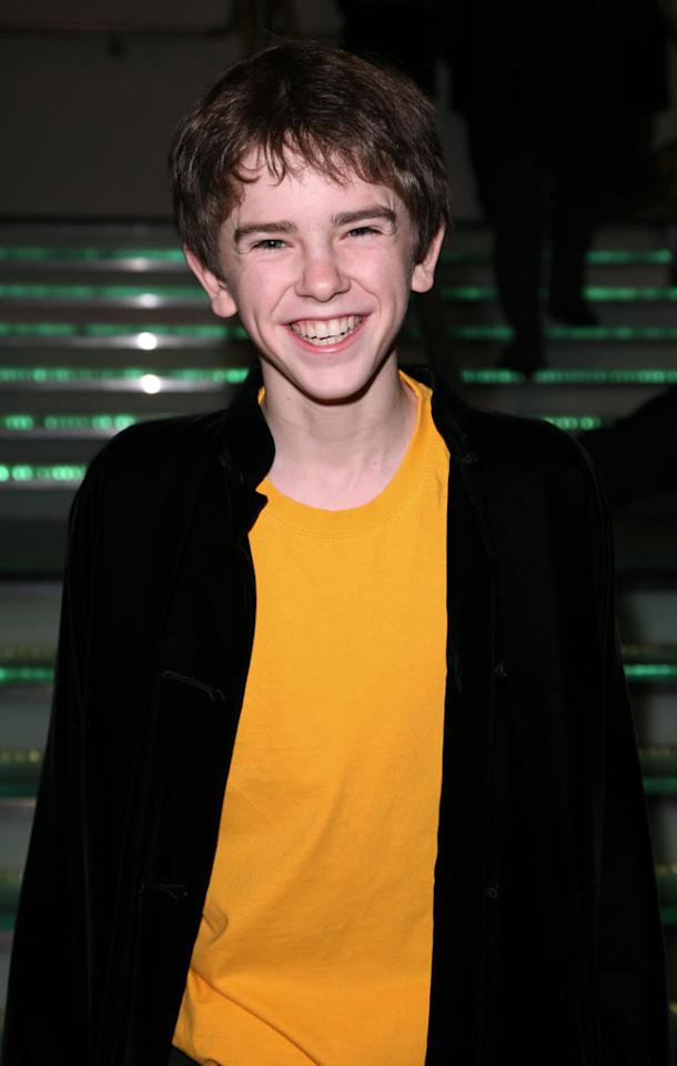 """Freddie Highmore at """"The Golden Compass"""" world premiere at the Odeon Leicester Square in London, England. Davidson/<a href=""""http://www.infdaily.com"""" target=""""new"""">INFDaily.com</a> - November 27, 2007"""
