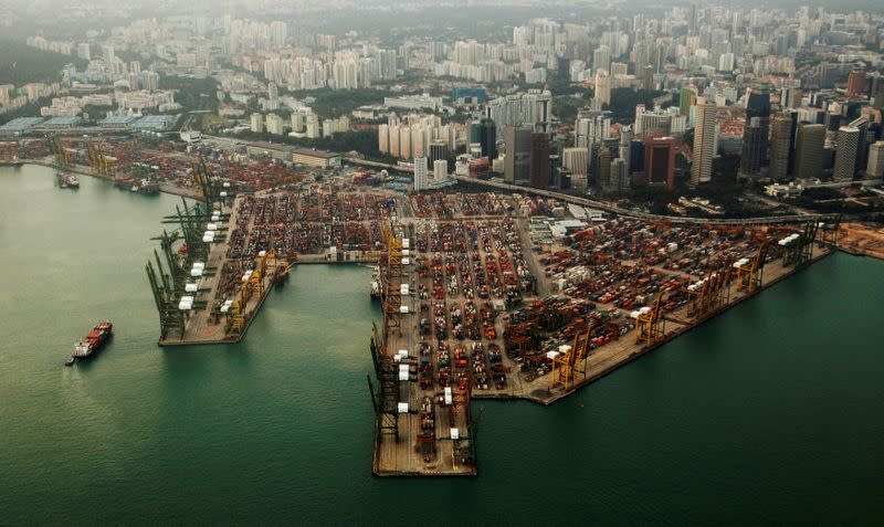 Pharma shipments lift Singapore exports for third straight month