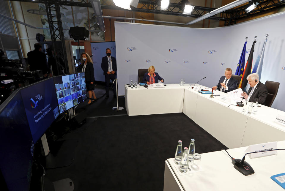 Germany presses for EU deal on taking in rescued migrants