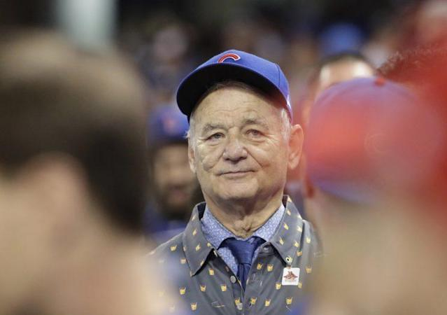 Billy Murray is passionate when it comes to his baseball teams. (AP)
