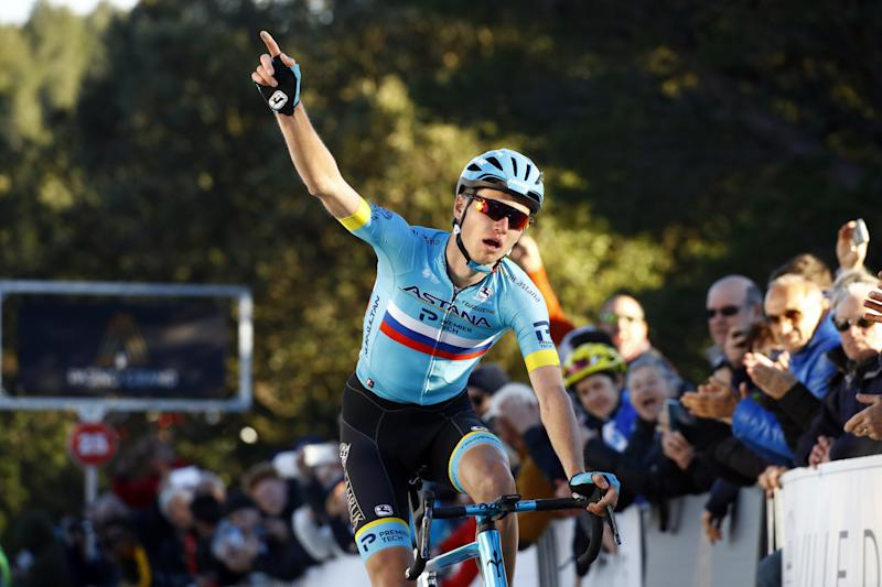 Aleksandr Vlasov (Astana) won stage 2 of the Tour de La Provence