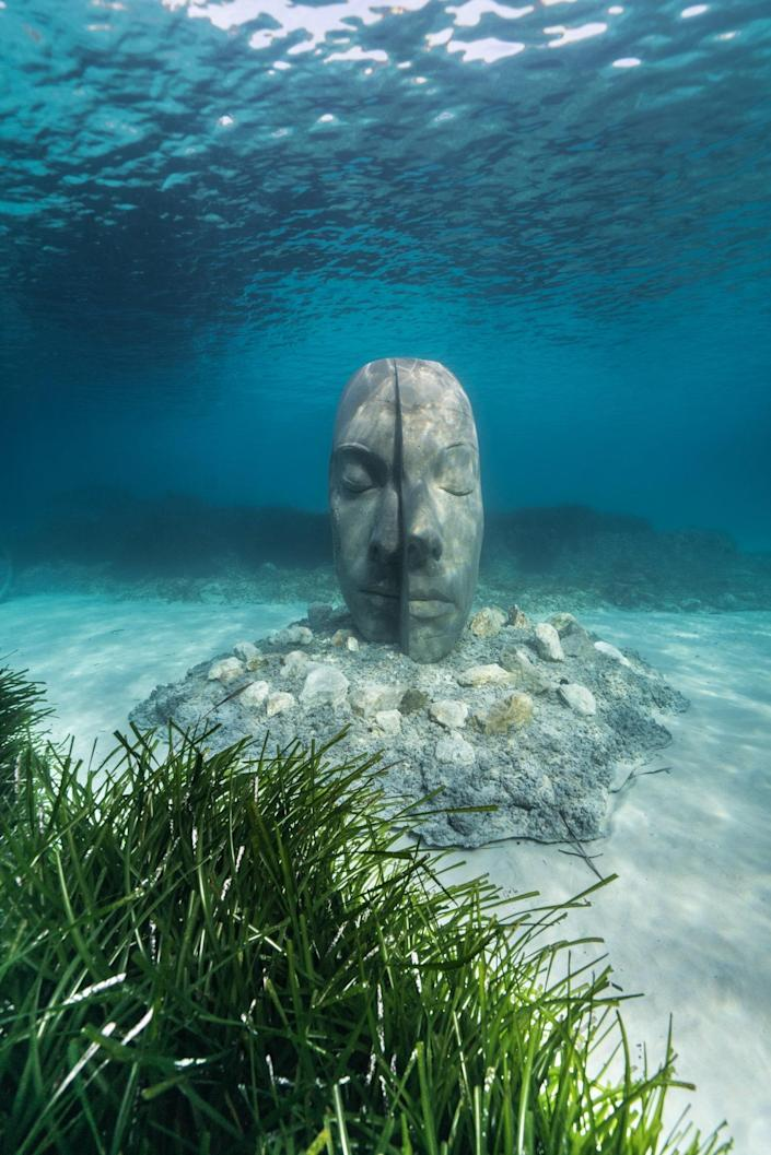 The museum has no fee, and is open to anyone in the public willing to snorkel or dive down to see the sculptures.