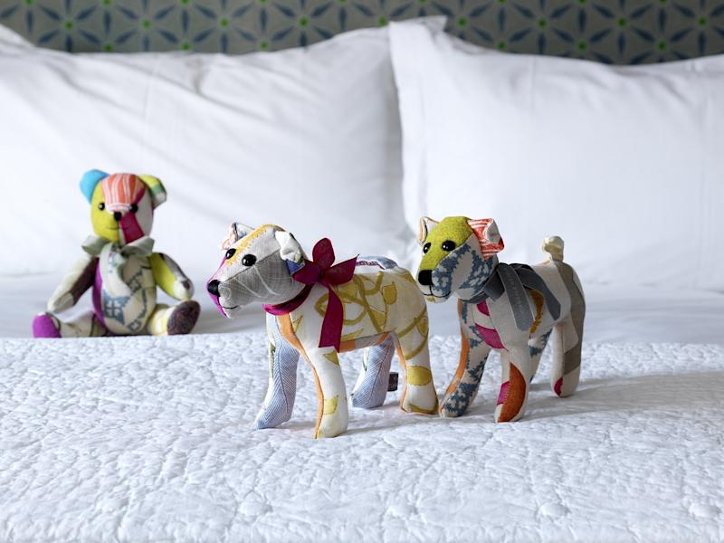 Patchwork toys by Kemp.
