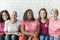 """<span>Another symptom of inflammatory breast cancer is when your breast skin turns pink or reddish on more than half the breast—something that can be hard to tell in those with darker skin tones. """"Sometimes these changes in coloration can be difficult to find in African Americans and in obese patients with very large breasts,"""" </span><strong><a href=""""https://www.cancercenter.com/discussions/blog/5-signs-of-breast-cancer-that-aren't-a-lump/"""" rel=""""nofollow noopener"""" target=""""_blank"""" data-ylk=""""slk:Ricardo H. Alvarez"""" class=""""link rapid-noclick-resp"""">Ricardo H. Alvarez</a></strong><span>, MD, leads the Breast Cancer Center Institute at Cancer Treatment Centers of America (CTCA), said on the CTCA website</span><span>. And for harmful habits you should be aware of, check out <a href=""""https://www.msn.com/en-us/health/medical/30-things-you-had-no-idea-could-cause-cancer/ss-BB17o7Pt#image=1"""" rel=""""nofollow noopener"""" target=""""_blank"""" data-ylk=""""slk:30 Things You Had No Idea Could Cause Cancer"""" class=""""link rapid-noclick-resp"""">30 Things You Had No Idea Could Cause Cancer</a>. </span>"""