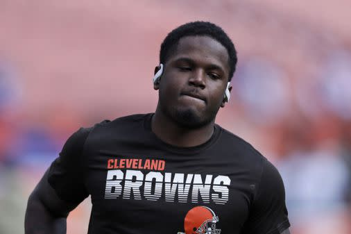 Browns waive troubled receiver Antonio Callaway