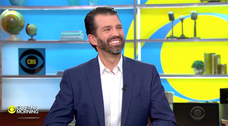 Trump Jr. releases provocative book defending father