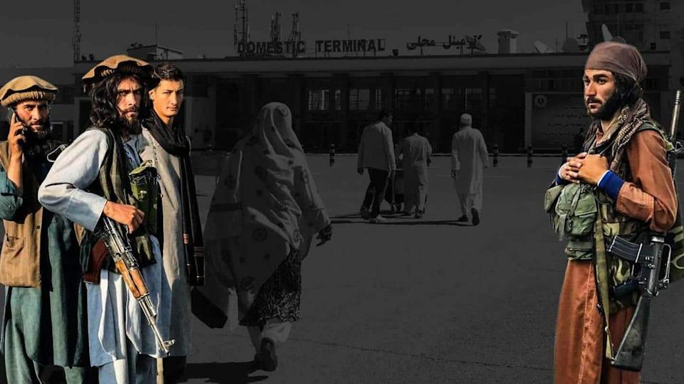 Explosion outside Kabul airport; 13 killed, including children, says Taliban
